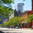 Warehouse District exteriors - Stock Photo