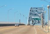 стальные фермы моста — Стоковое фото
