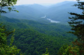 Cumberland Gap view — Stock fotografie