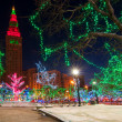 Cleveland Christmas — Stock Photo