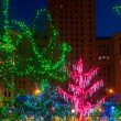 Lights on the Square — Stock Photo