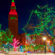 Terminal Tower Christmas — Stock Photo