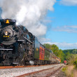Steam locomotive — Stockfoto #31855179