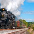 Stockfoto: Steam locomotive