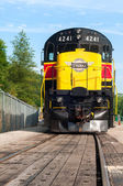 Looming Locomotive — Stock Photo