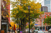 Cleveland street scene — Stock Photo