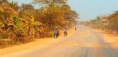Cambodian dry season dust — Stock Photo