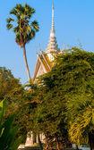 Memorial stupa — Stock Photo