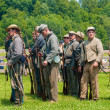 Постер, плакат: Confederates lining up