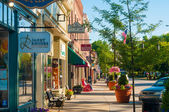 Main Street charm — Stock Photo