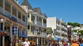 Main Street Mackinac  — Stock Photo