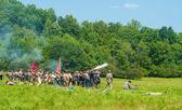 Battle scene — Stock Photo