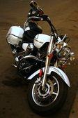 Motocykl v parkovací — Stock fotografie