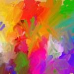 Palette of artist — Stock Photo