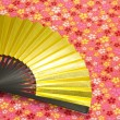 Fan of gold — Stock Photo