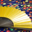 Fan of gold — Stockfoto