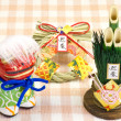 Ornaments of the Japanese New Year — Stock Photo