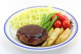 Hamburger steak — Foto de Stock