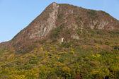 在秋天的山 — 图库照片