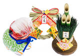 украшения японский новый год — Стоковое фото