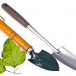 Stock Photo: Trowel