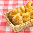 Bread in a basket — Stock Photo