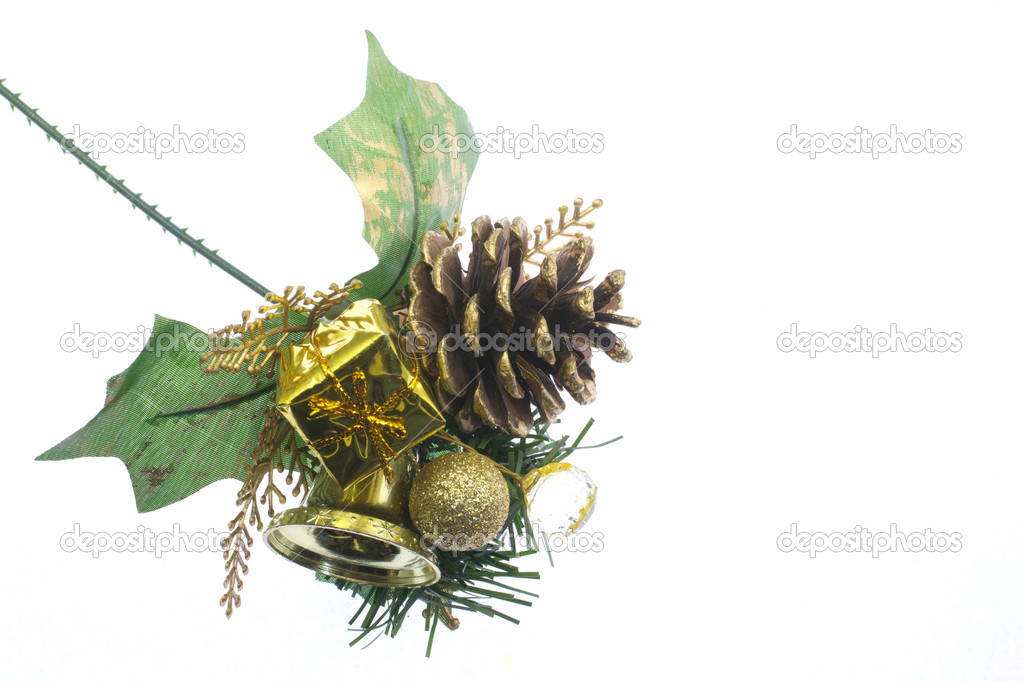 This is a photo of the ornament to decorate during Christmas. — Stock Photo #18352407