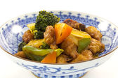 Sweet and sour pork — Stock Photo