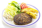 Hamburger steak — Stock Photo