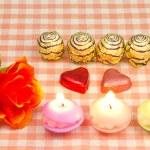Chocolate gift for Valentine — Stock Photo #19317669