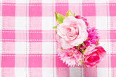 Artificial roses — Stock Photo