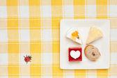 ミニ ケーキゲーム — ストック写真