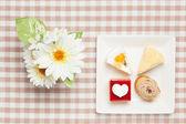 Mini shortcakes — Stock Photo