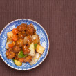 Sweet and sour pork - Stock Photo