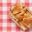 Mini croissant - Stock Photo