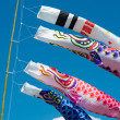 Carp streamers — Stock Photo