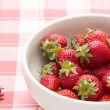 Stock Photo: Strawberries in a bowl