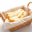 Stock Photo: Sandwiches in basket