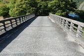 Bridge of concrete — Stock Photo