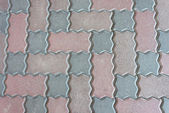 Pattern of cobblestone — Stock Photo