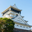 Blue sky and Kokura Castle — Stock Photo
