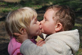 Children love — Stock Photo