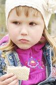 Menina triste — Fotografia Stock