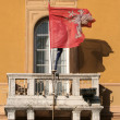 Flag of Perugia city — Stock Photo