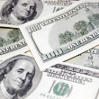 United States One Hundred Dollar Bills — Stockfoto