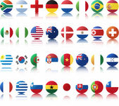 National flags of countries — Vettoriale Stock