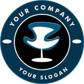 Hair solon logo — Stock Vector