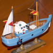 Model ship detail — Stockfoto