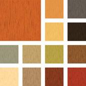 Tekstury drewna — Wektor stockowy