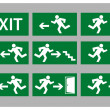Exit sign — Stock Vector #19920143
